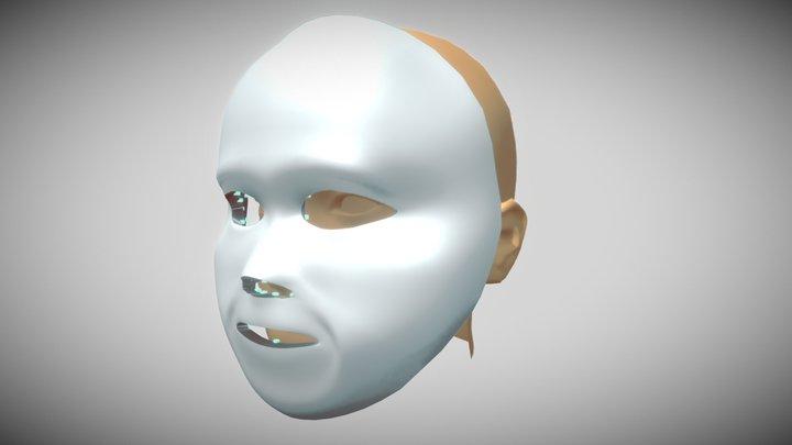 Mascara LED 2 3D Model
