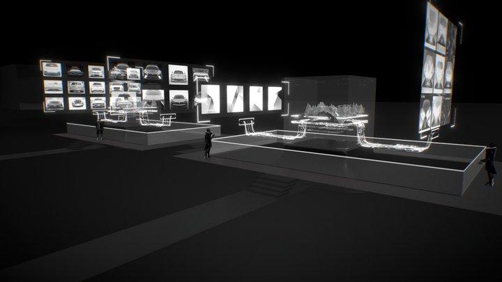 AI engine scene 3D Model