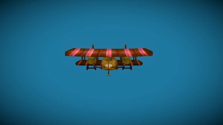 AEG G.IV Bomber 3D Model