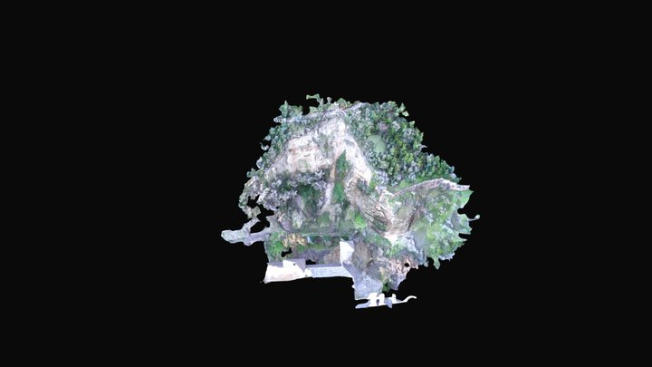 Tajo San Pedro- Unión Vuelos Simplified 3d Mesh 3D Model