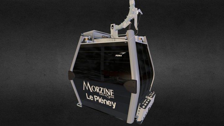 Cabine Diamond 3D Model