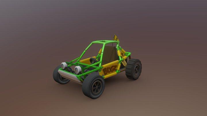 HCR2 Buggy 3D Model