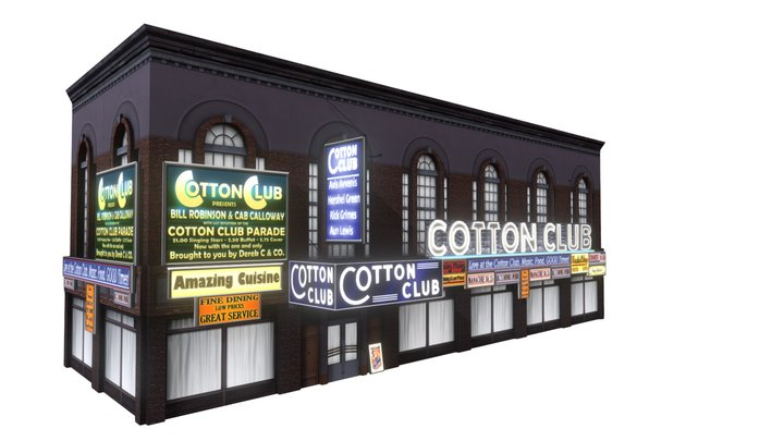 Cotton Club 3D Model