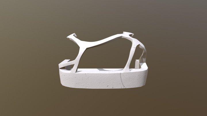 Glass Frame Structure 01 3D Model