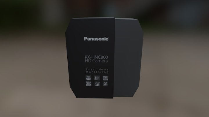 Panasonic Box 3D Model
