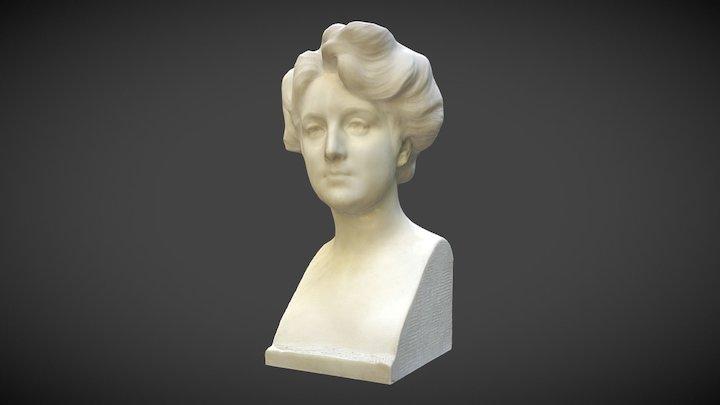 Lady Bust - Benlliure 3D Model