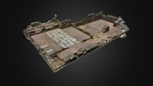 Plantation La Caroline, French Guiana - Kitchen 3D Model
