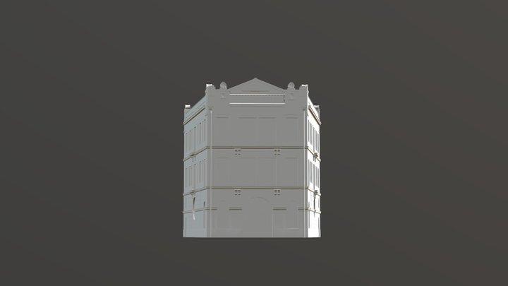 Bar Negresco 3D Model