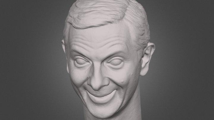 Mr Bean Head 3D Scan 3D Model