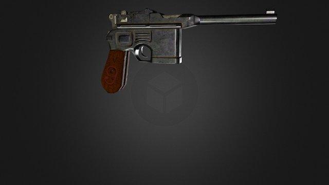 MauserC96_PBR 3D Model