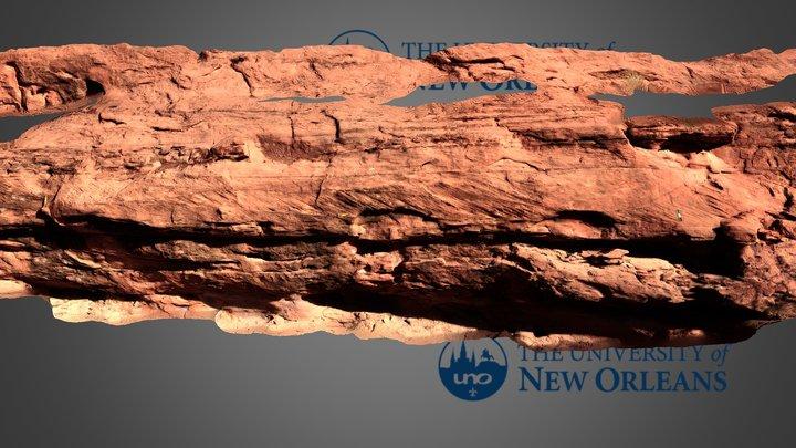 Bedform cross sets, Kayenta near Moab 3D Model