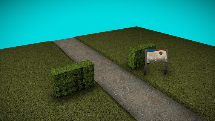 Old City Cemetery Segregation Memorial 3D Model