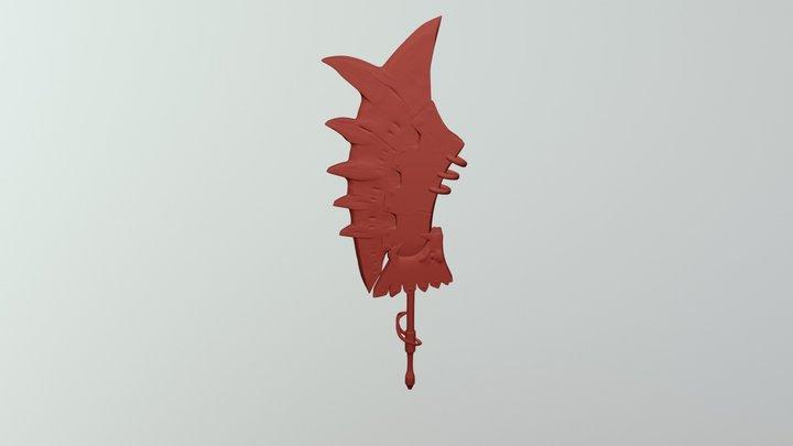 Lion Bane 3D Model