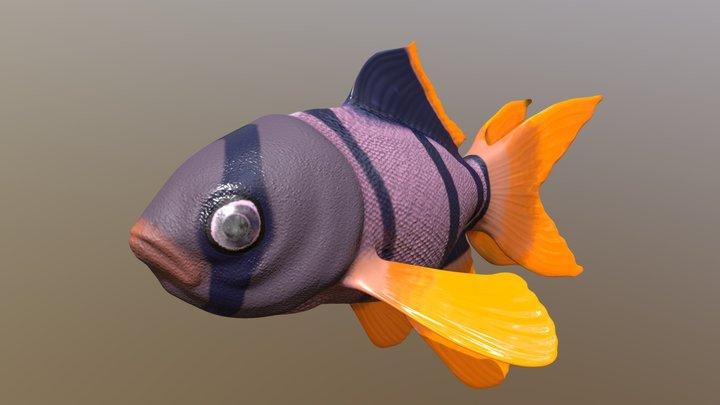 Tropical Fish #FishChallenge 3D Model