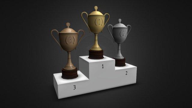 Trophy Pack 3D Model