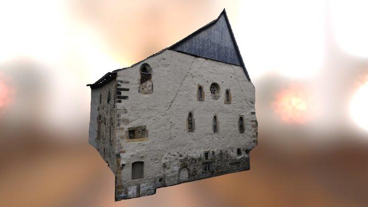 Alte Synagoge Erfurt 3D Model