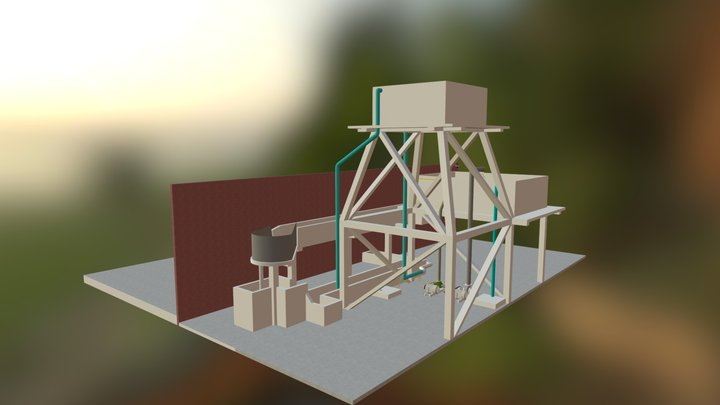 Hydro system 3D Model