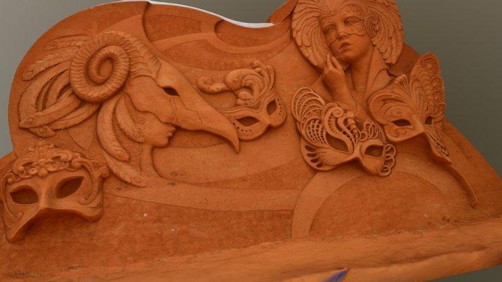 "Susanne Ruseler and Ilya Filimontsev ""Venetian"" 3D Model"