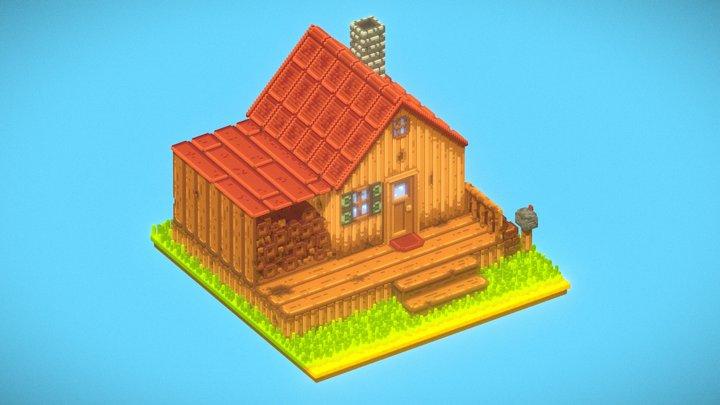 Stardew Valley Farmhouse (Fan Art) 3D Model