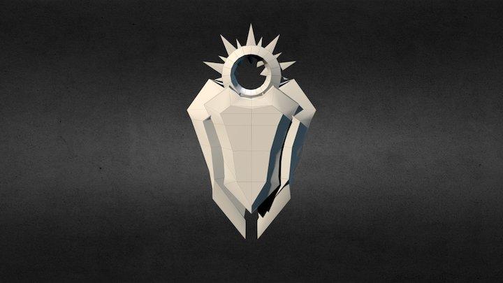 Leona's Shield 3D Model