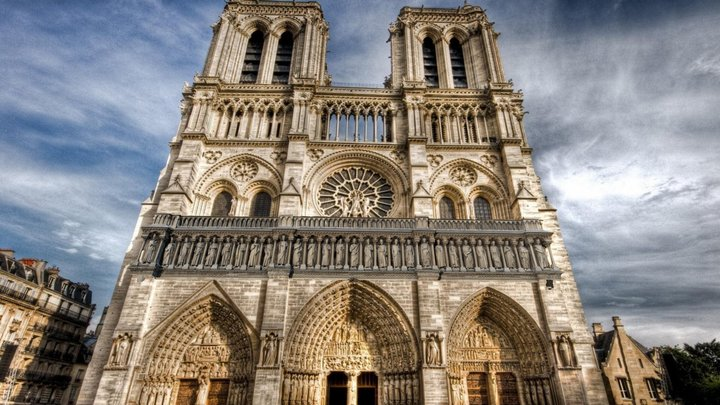 STATUES NOTRE DAME DE PARIS - GALLERY OF KINGS 3D Model