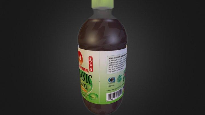 15 Oz ORG SS - Bottle Only 3D Model