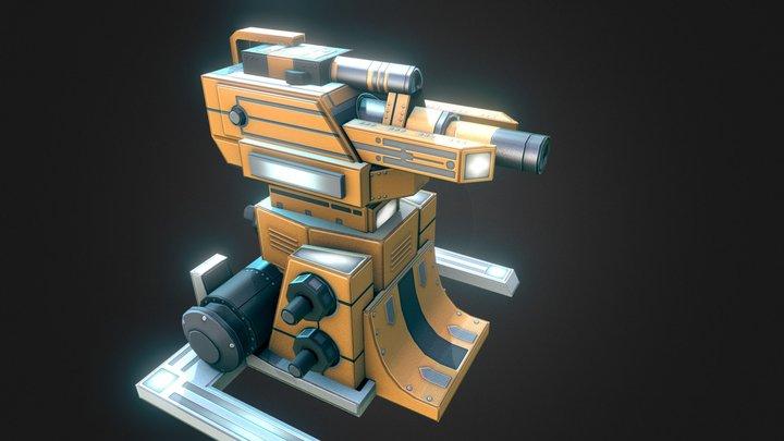 Entrocore : Splitter 3D Model