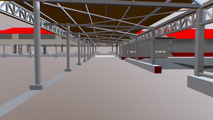 Congregational Area 3D Model