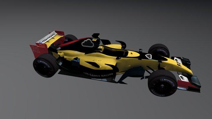 Fenavo Games Racing - Raphael Brito 3D Model