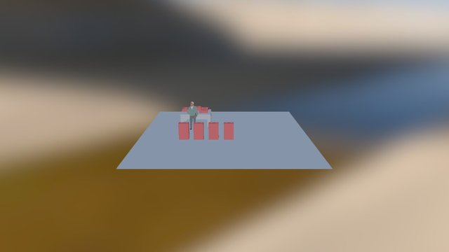 Puesto de Trabajo De un Constructor 3D Model