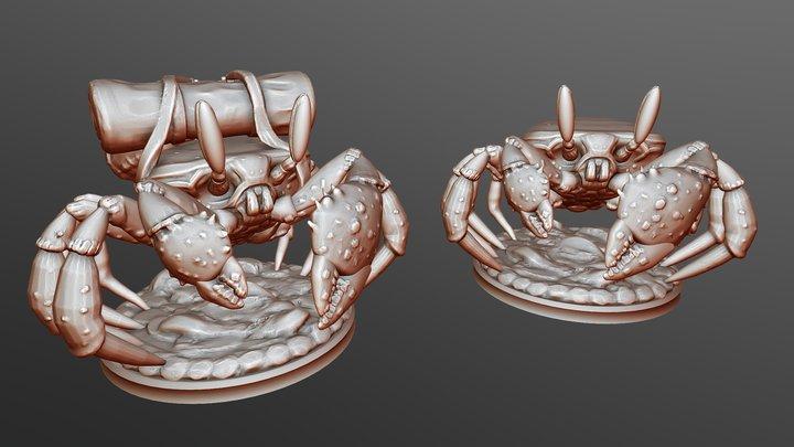 DnD Crab Miniature 3D Model