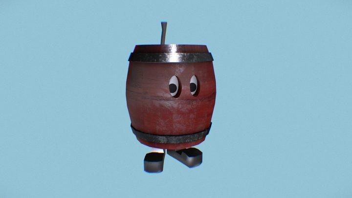 Barrel Boi 3D Model