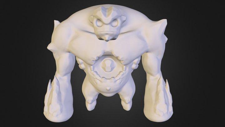 Marshmellow 3D Model