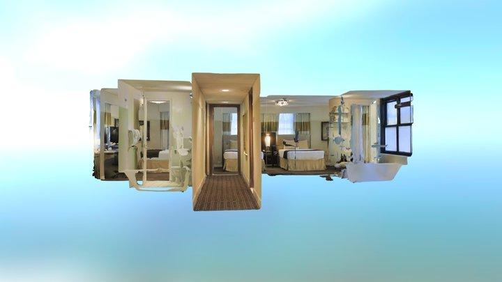 Nicola Tesla Room - Real Virtual Zone 3D Model
