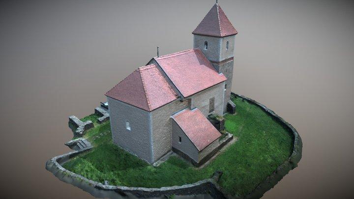 Szent István kápolna Mecseknádasd 3D Model