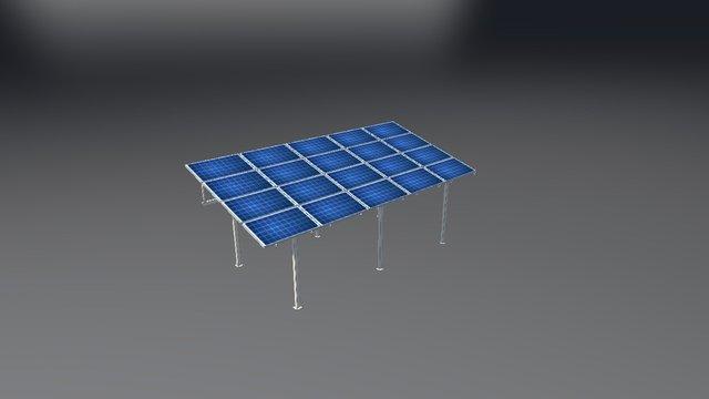 PV SHED 3D Model
