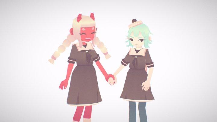 Friends 3D Model
