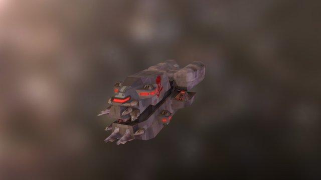 Pirate Frigate 3D Model