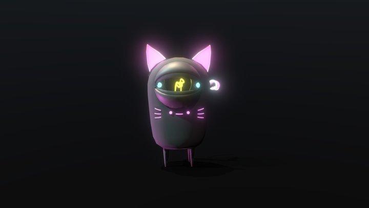 catbullot 3D Model