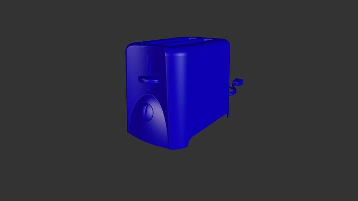 Toaster Diagnostic 3D Model