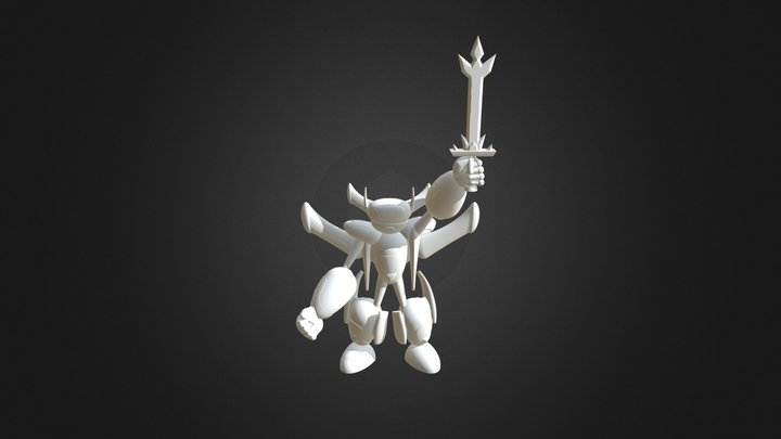 Rick and Morty Voltron 3D Model