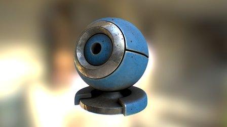 Material ball in 3D-Coat 3D Model