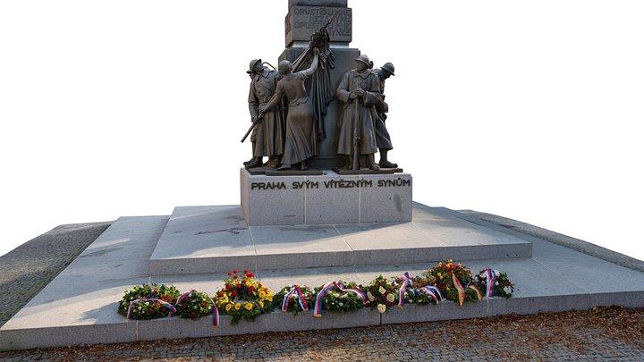 3D Scan - Prague monument 3D Model