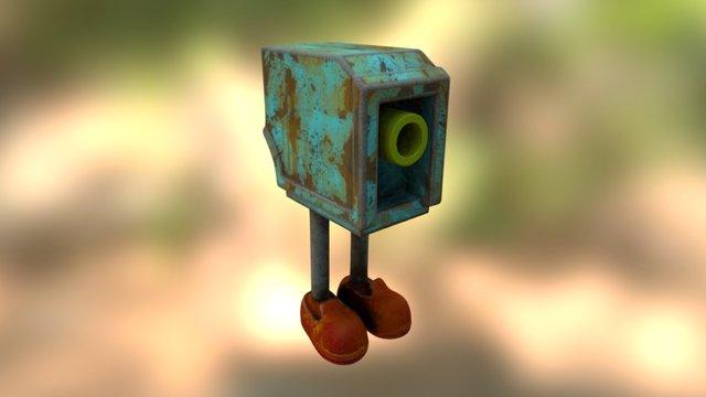 run down toaster 3D Model