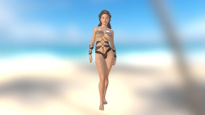 Fantasy Wraps 3D Model