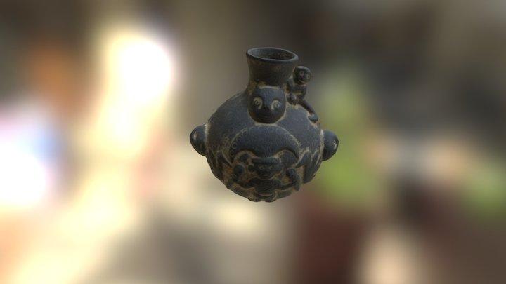 Céramique péruvienne 3D Model