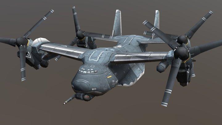 Starlifter 3D Model