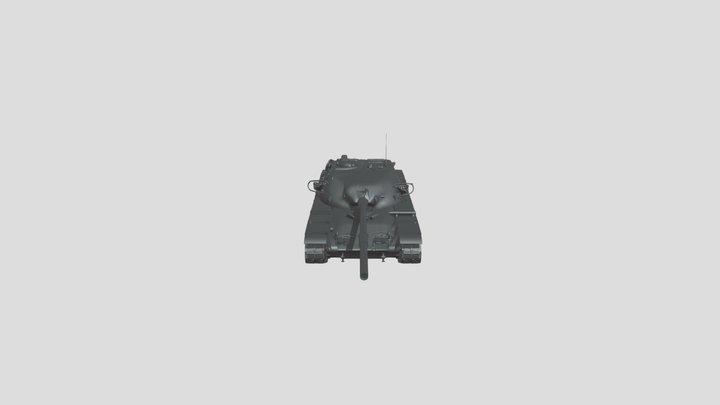 4 Chieftain (FV4201) T95 3D Model