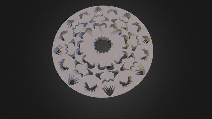 מנדלה ענת אלקיים 3D Model