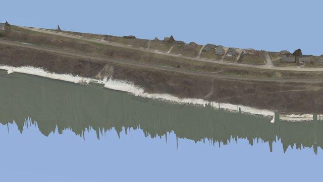 St. Joseph, MI Shore Erosion Project 3D Model